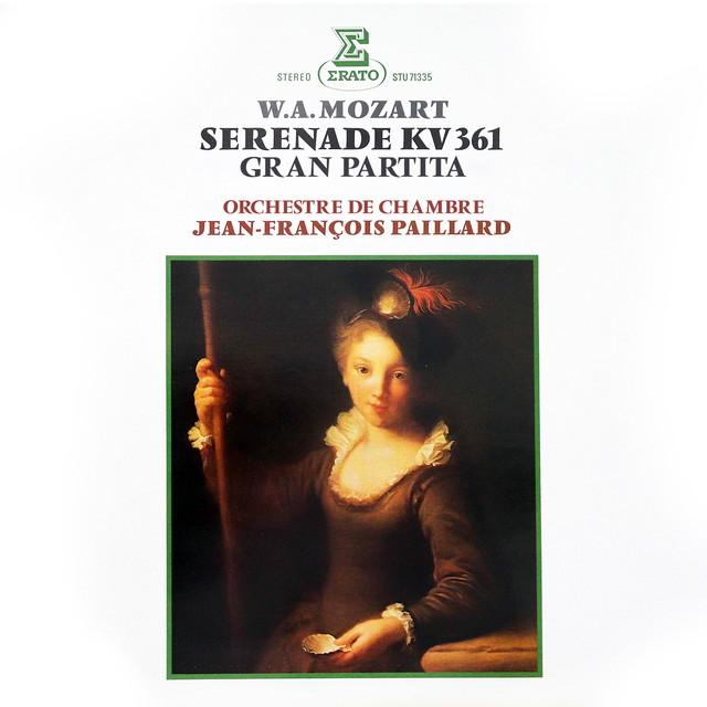 "画像: Mozart: Serenade, K. 361 ""Gran Partita""/Jean-François Paillard"
