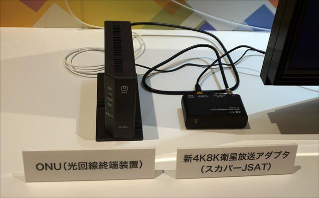 画像: フレッツ・テレビサービスを使った4K8Kの受信方法もわかりやすく回折されている