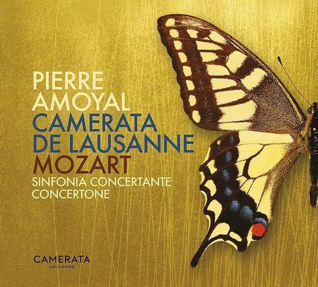 画像: Mozart: Sinfonia concertante & Concertone/Camerata Lausanne