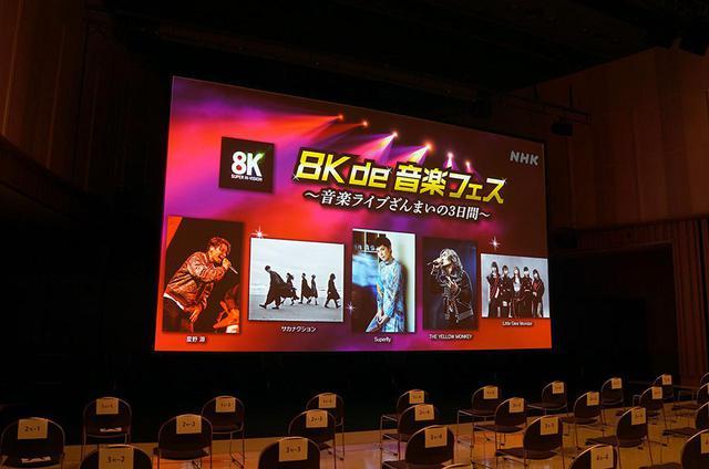 画像: NHKが、体験イベント「超絶体験!4K・8Kスーパーハイビジョンパーク」を開催。WITH HARAJUKU HALLの350インチ&22.2chで、スペシャルドラマやベルリン・フィルの演奏を体験しよう - Stereo Sound ONLINE