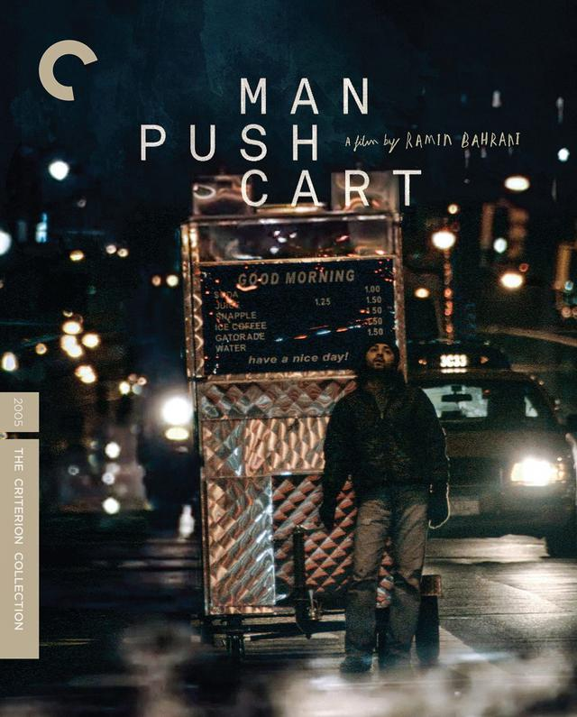 画像: マン・プッシュ・カート(原題)/2月23日リリース 2005年/監督・脚本ラミン・バーラニ /出演 アーマド・ラジヴィ, アーマド・ラジヴィ High-definition digital master, supervised and approved by director Ramin Bahrani, with uncompressed stereo soundtrack on the Blu-ray ラミンが高い評価を得た、アメリカン・ドリーム三部作の第1作。NYマンハッタンでコーヒー販売のカートで生計を営む青年。彼はパキスタンでは有名なロックスターであった。