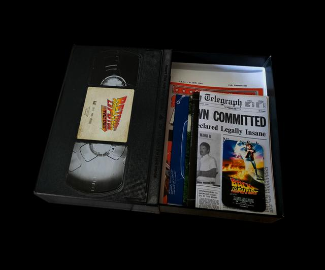 画像: Box in the form of a VHS cassette
