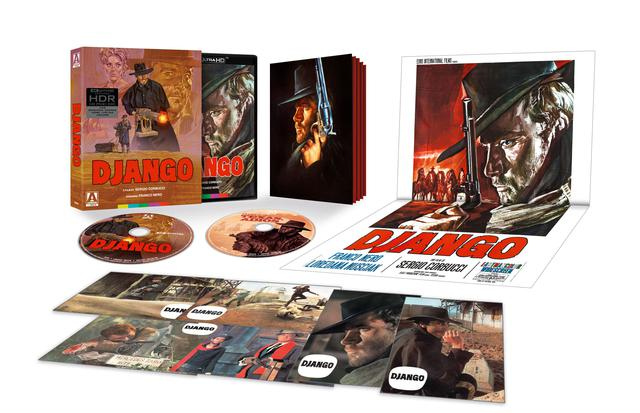 画像: DJANGO - 4K UHD BLU-RAY with DOLBY VISION