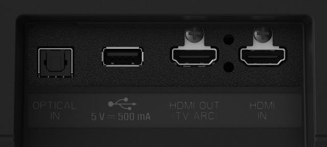 画像: HDMIは、eARC対応の出力が1系統、入力も1系統備えている。また、背面にパッシブラジエーターを搭載しており、パワフルに低域を鳴らす