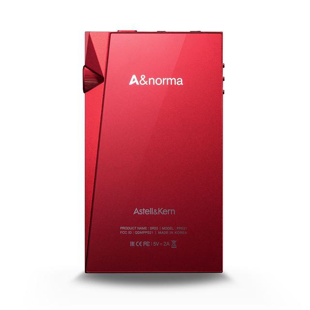 画像2: Astell&Kernのハイレゾプレーヤー「A&normaSR25」に、真紅ボディの「A&norma SR25 CarmineRed」が12月11日に登場。国内300台限定発売