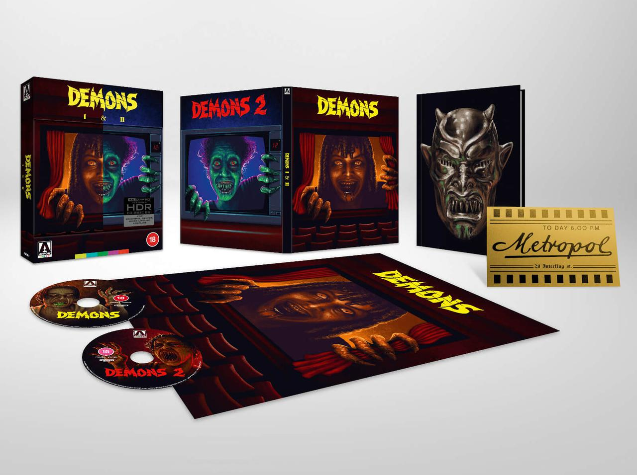 画像: DEMONS/DEMONS 2 - 4K UHD BLU-RAY with DOLBY VISION