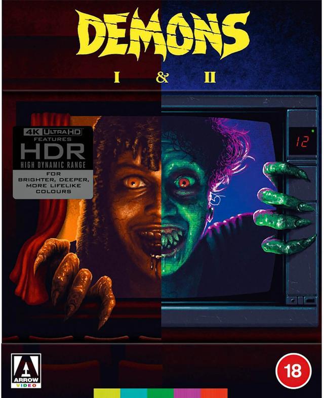 画像: ダリオ・アルジェント製作4Kホラー『デモンズ』『デモンズ2』【海外盤Blu-ray発売情報】