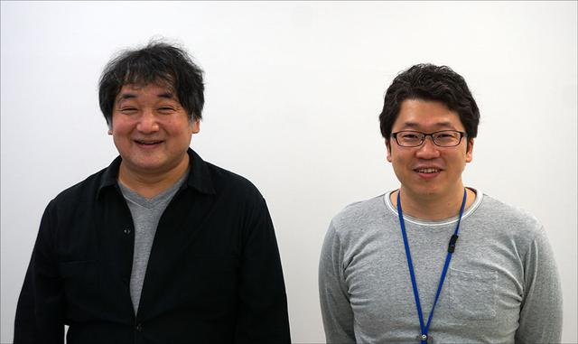 画像: インタビューにご協力いただいたおふたり。左は株式会社円谷プロダクション 製作本部 エグゼクティブマネージャー 兼 製作部 ゼネラルマネージャー 隠田雅浩さんで、右は同 製作本部 製作部 設定・監修チーム 池田 遼さん