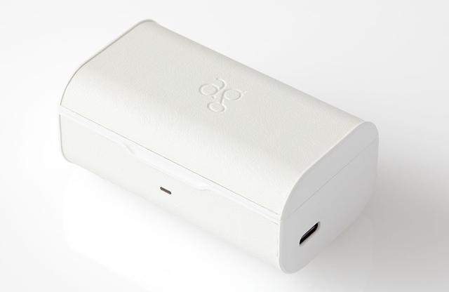 画像2: finalが、agブランドの完全ワイヤレスイヤホンに新色「TWS04K-WH」を発売。透明感のあるクリアーな音質と防水性能、最大180時間の超ロングバッテリーを搭載