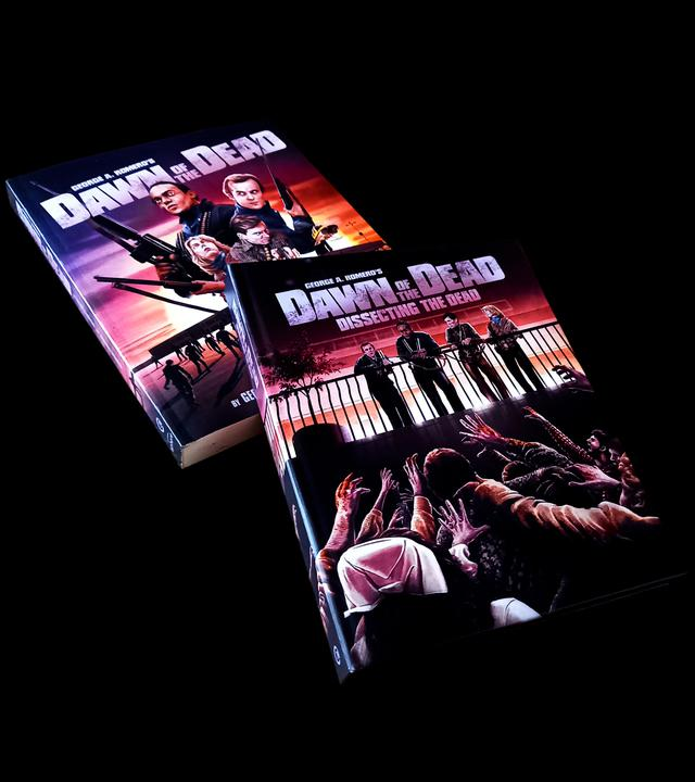 画像: ● 160 page hardback book featuring 17 new essays, archive article and George A Romero interview and plus original marketing, artwork and merchandise images, and behind-the-scenes stills ● Dawn of the Dead: The novelisation book by George A Romero and Susanna Sparrow with exclusive artwork