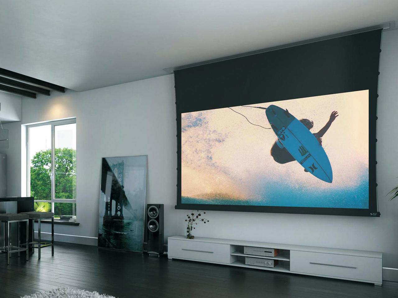 画像5: 大画面のキレイはスクリーンがポイント KIKUCHI「SPA-100HDUT」<ネット動画を夢の大画面で楽しむ>