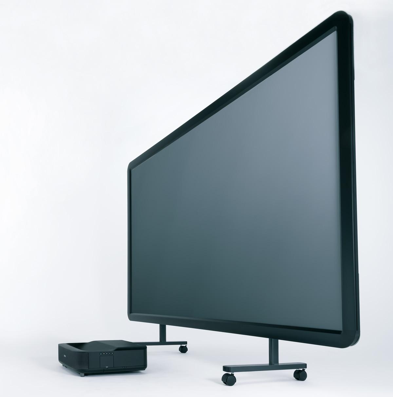 画像1: 大画面のキレイはスクリーンがポイント KIKUCHI「SPA-100HDUT」<ネット動画を夢の大画面で楽しむ>
