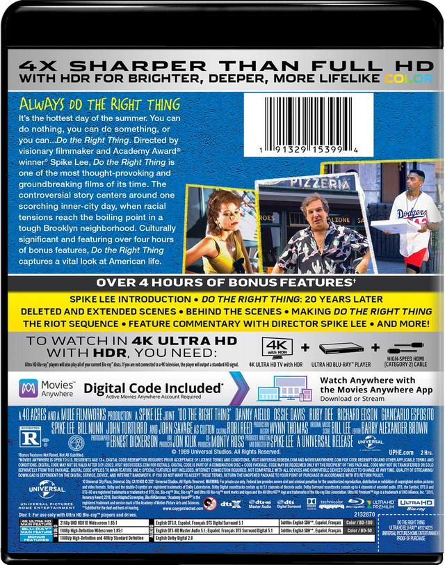 画像2: スパイク・リーの名作が4K化『ドゥ・ザ・ライト・シング』【海外盤Blu-ray発売情報】