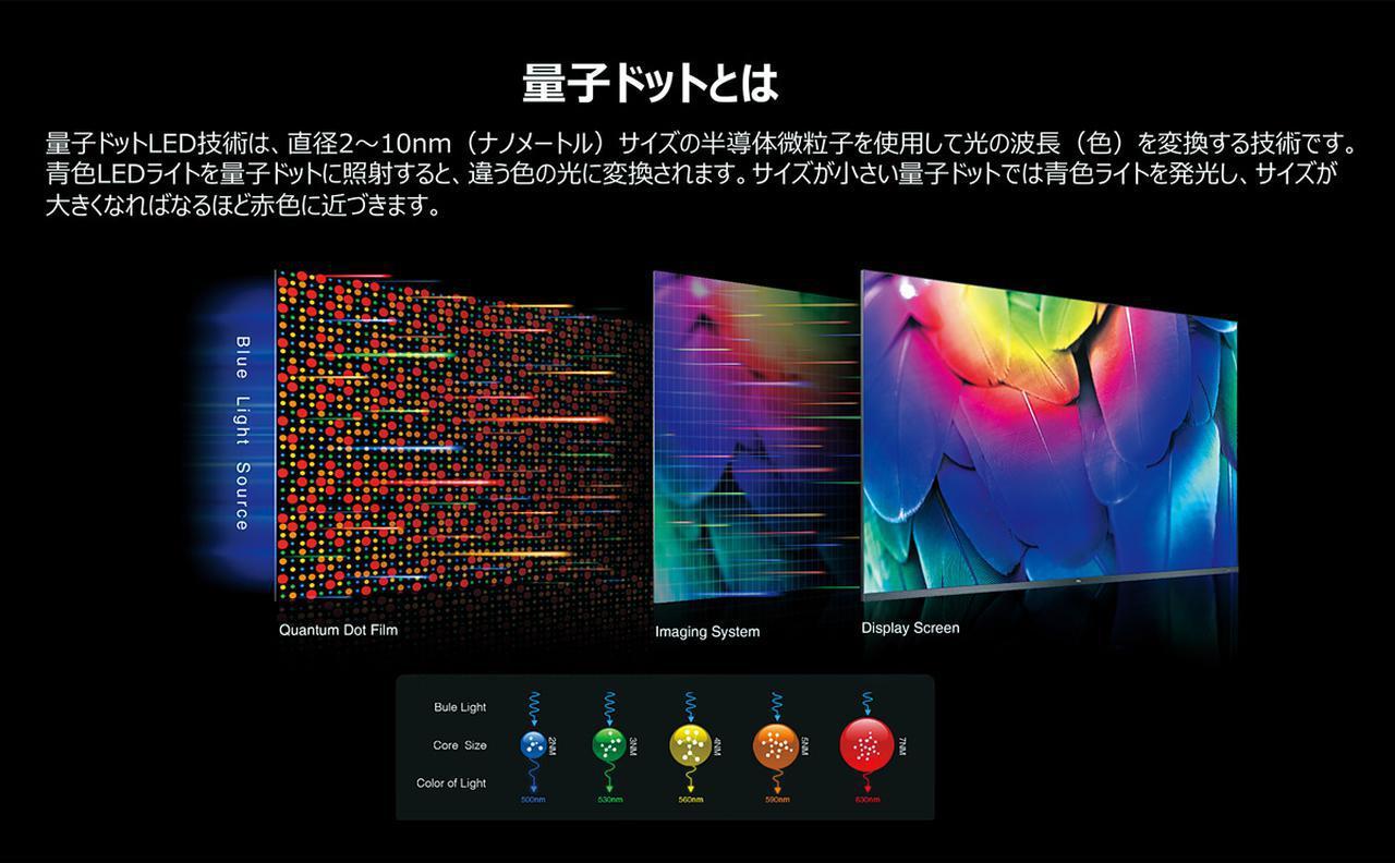 画像5: 明るく色鮮やかな色彩でネット動画を楽しむ!TCLから先進のQLED搭載液晶テレビ65C815登場