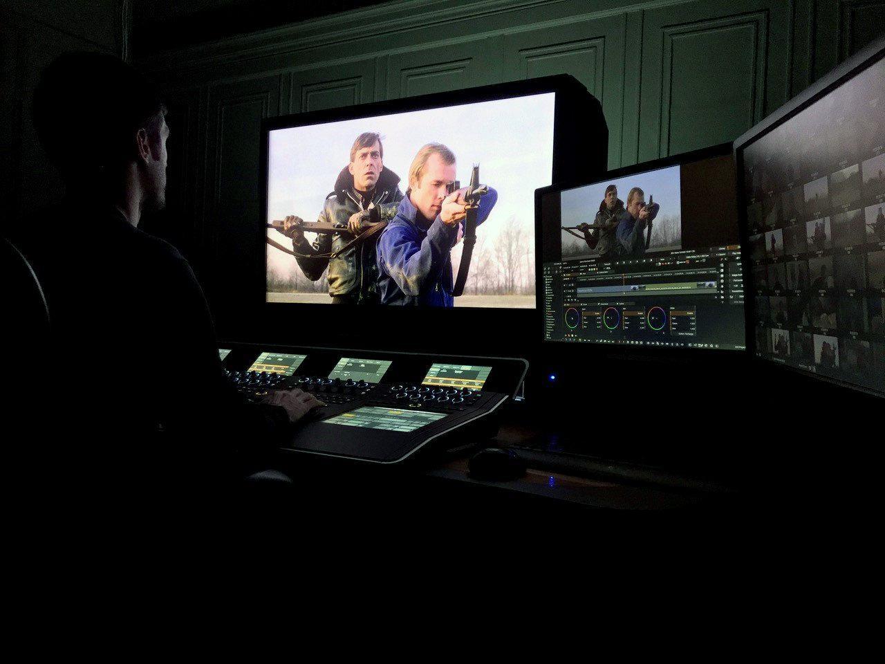 画像: Nucoda FilmMaster with Digital Vision Optics Nucoda FilmMaster(ヌコーダ フィルムマスター)は、スウェーデン/ストックホルムに本社を置くDigital Vision社のノンリニアカラーグレーディングシステムの最上位機種。オプションとして画像処理ソフトウェアDigital Vision Optics(DVO)を追加できる