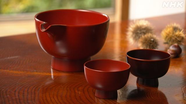 画像: 「うるわしの漆」 - 美の壺 - NHK