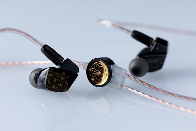 画像1: finalとDITAが共同開発した超弩級イヤホン「SHICHIKU.KANGEN-糸竹管弦-」が2021年2月に発売決定。伝統技法「沈金」を施した筐体で、全世界500台限定!