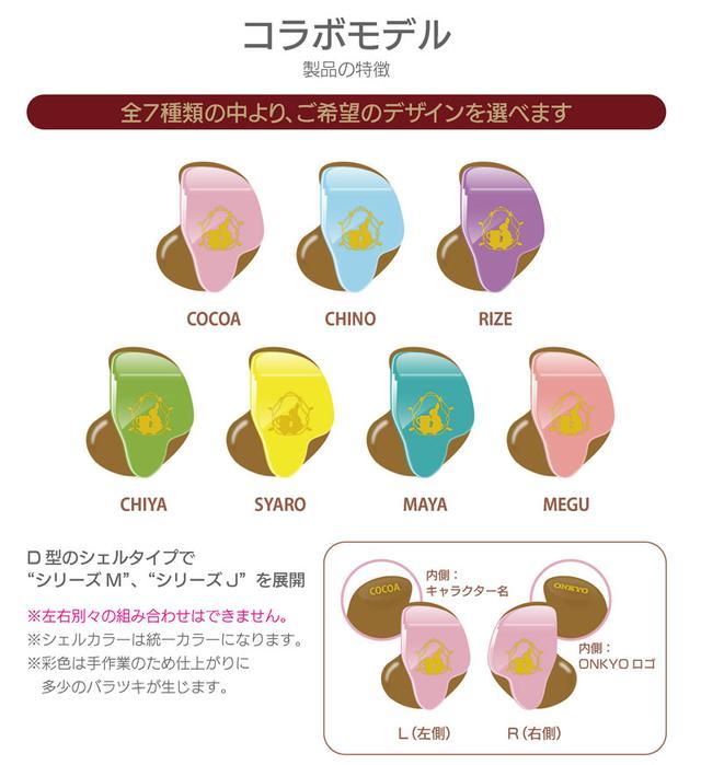 画像2: ONKYO DIRECT|ご注文はうさぎですか? Custom in-ear monitors