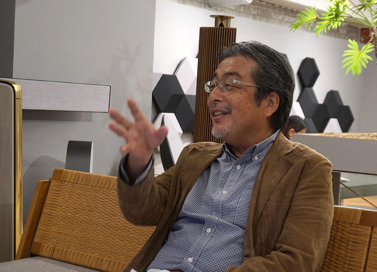 画像: ジェフさんと山本さんは共通の愛聴曲も多く、インタビューも楽しく盛り上がっていた