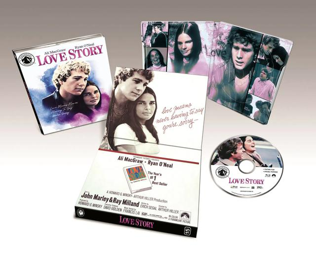 画像: LOVE STORY - BLU-RAY/NEW 4K RESTORATION OF THE FILM