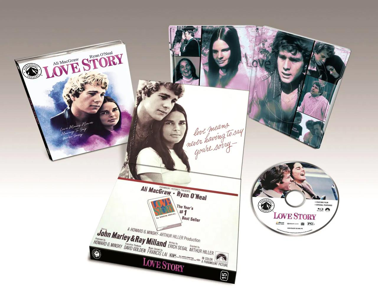 画像: LOVE STORY - BLU-RAY/NEW 4K RESTORATION OF THE FILM