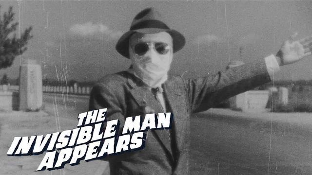 画像: The Invisible Man Appears Original Trailer (Nobuo Adachi, 1949) youtu.be