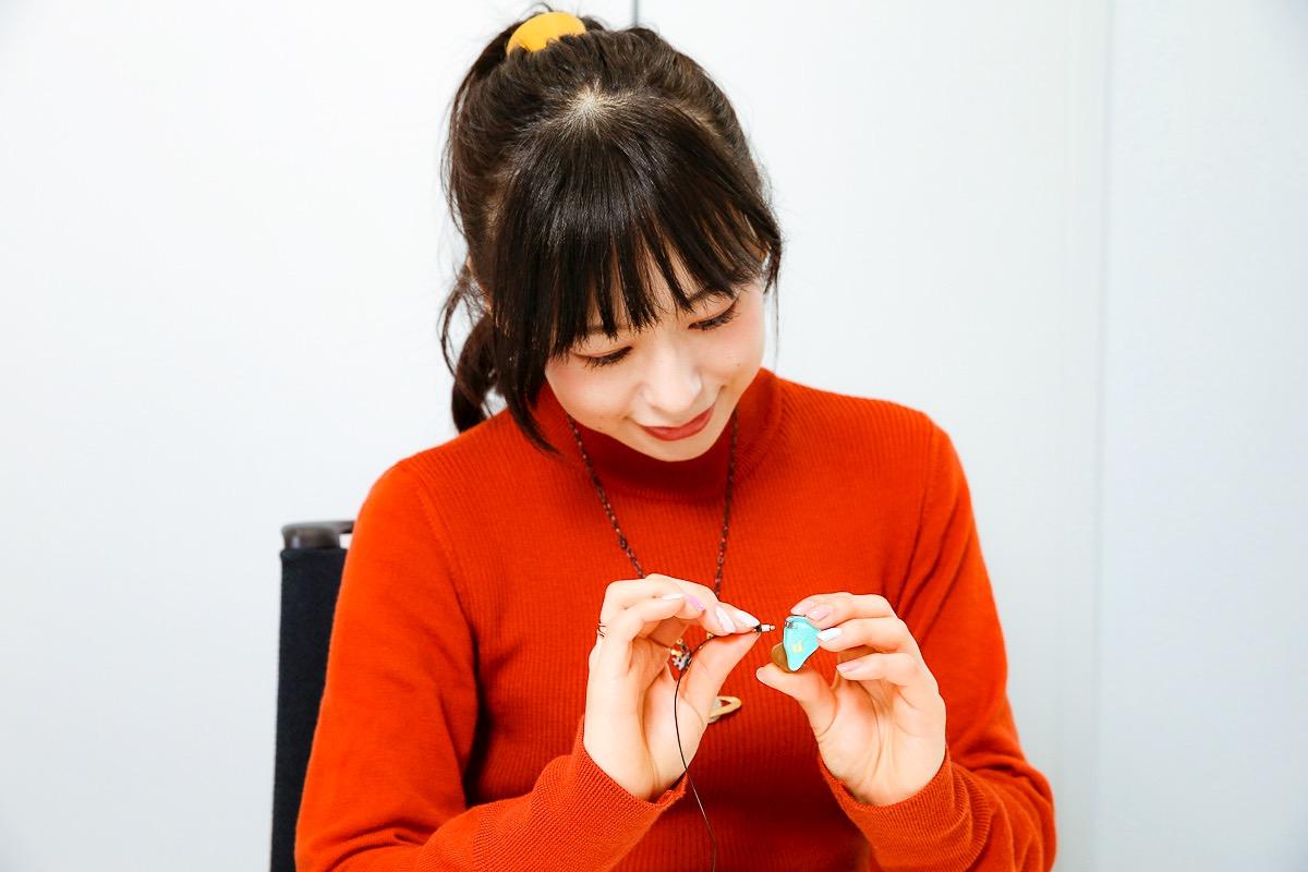 画像9: ぐーもる!人気アニメ「ごちうさ」マヤを演じた声優・徳井青空さんが、ごちうさ仕様のオンキヨーカスタムIEMを作成。 「ボーカルが浮き立って希望通りのサウンドが楽しめました。大満足です!」(徳井)
