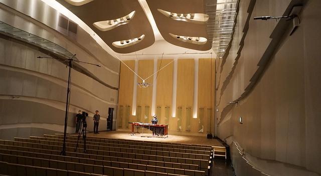 画像: WOWOW主導による高品質配信実験は、東京・富ヶ谷にあるHakuju Hallで開催された