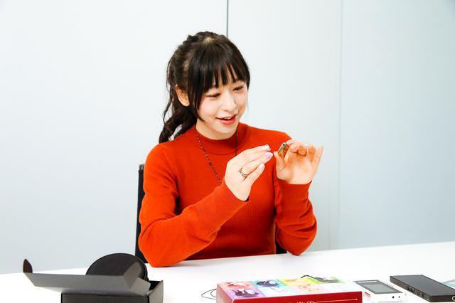 画像4: ぐーもる!人気アニメ「ごちうさ」マヤを演じた声優・徳井青空さんが、ごちうさ仕様のオンキヨーカスタムIEMを作成。 「ボーカルが浮き立って希望通りのサウンドが楽しめました。大満足です!」(徳井)
