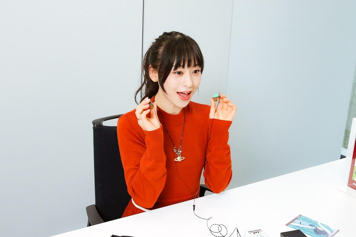 画像14: ぐーもる!人気アニメ「ごちうさ」マヤを演じた声優・徳井青空さんが、ごちうさ仕様のオンキヨーカスタムIEMを作成。 「ボーカルが浮き立って希望通りのサウンドが楽しめました。大満足です!」(徳井)