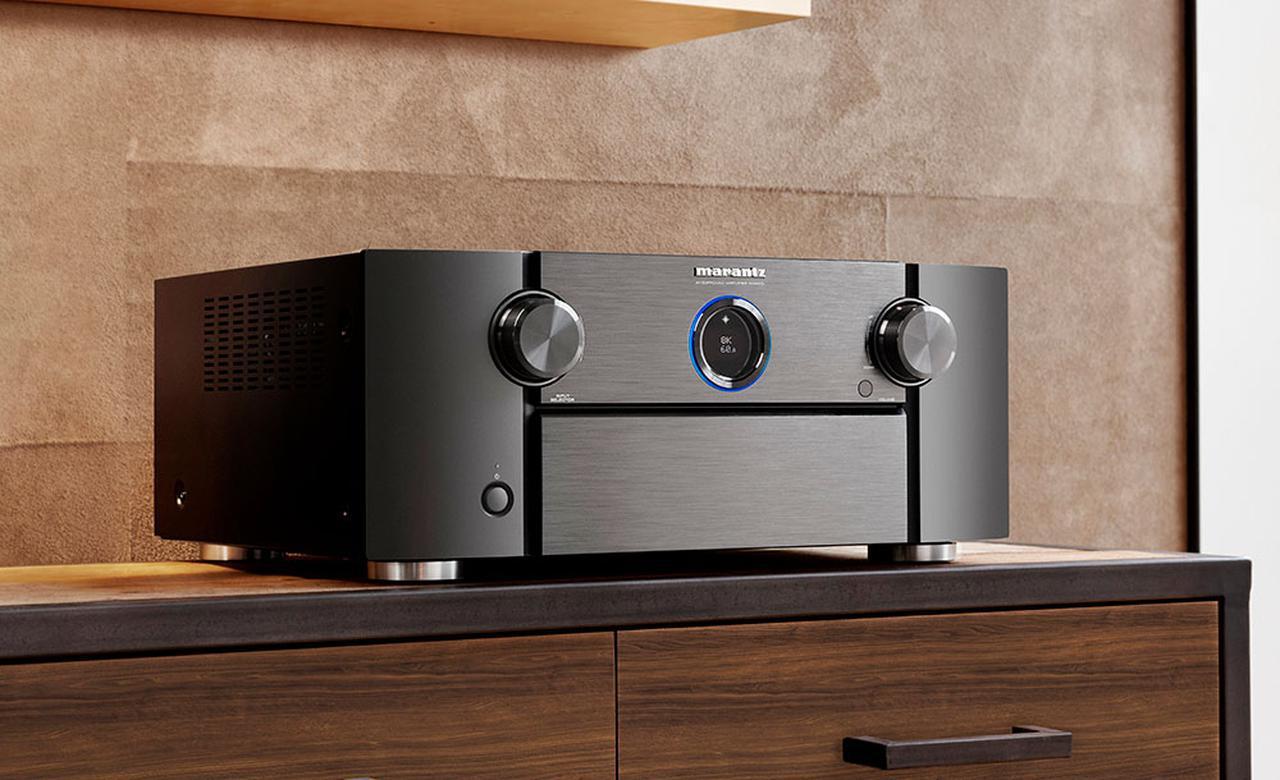 画像: マランツ、一体型AVセンターのフラッグシップがリニューアル。「SR8015」は8K/60p映像や各種イマーシブサウンドにフル対応した、注目の一台だ - Stereo Sound ONLINE
