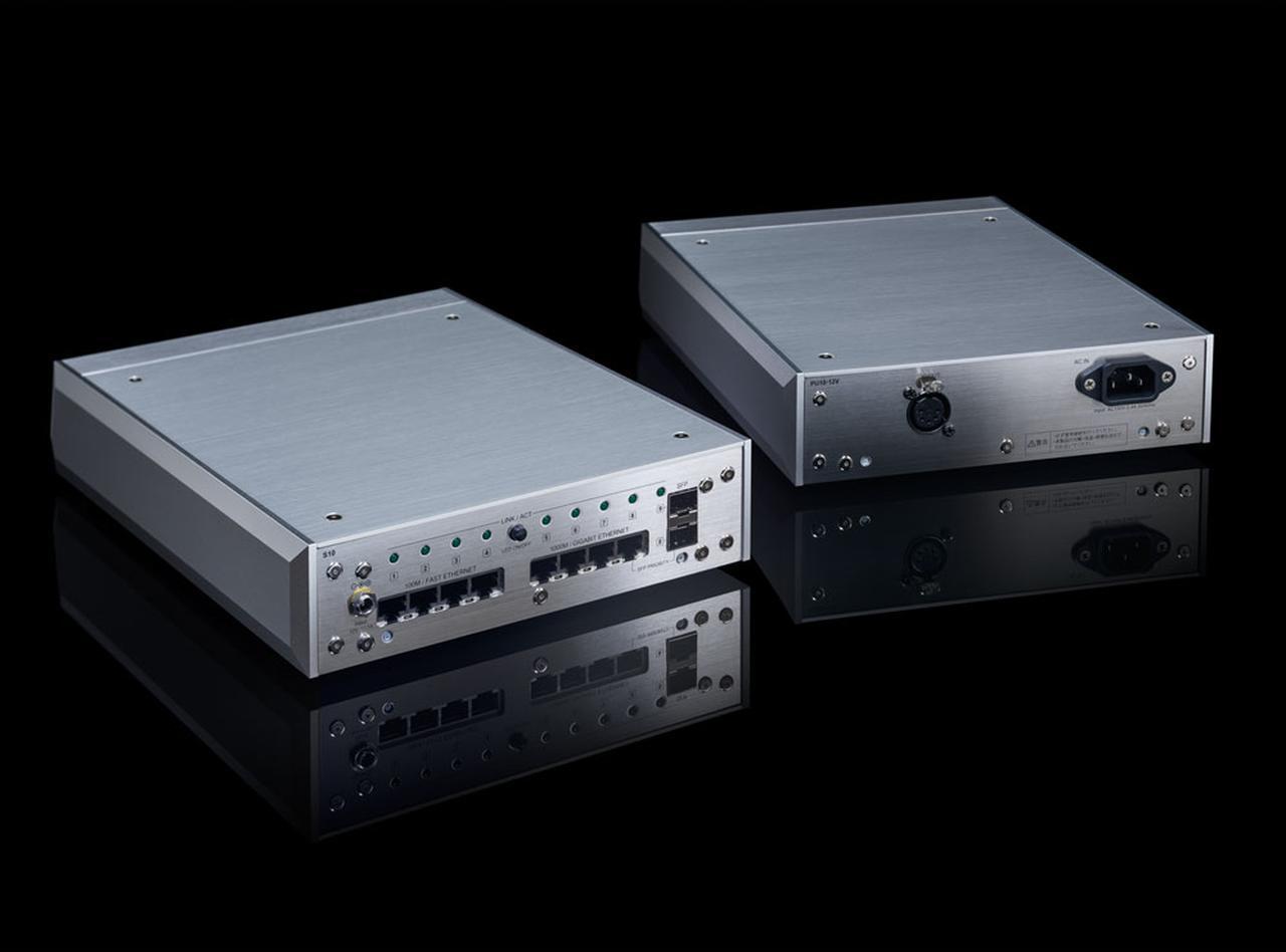 画像: DELA、セパレートリニア電源採用ネットワークスイッチ「S10」、および、ネットワークスイッチ「S100」のブラックモデル「S100-BB-J」を発表 - Stereo Sound ONLINE