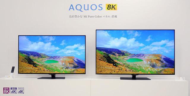 画像: シャープが、AQUOS 8Kのフラッグシップ「8T-C70CX1」「8T-C60CX1」を4月25日に発売。新開発の「8K Pure Colorパネル」を搭載し、臨場感あふれる映像が楽しめる - Stereo Sound ONLINE