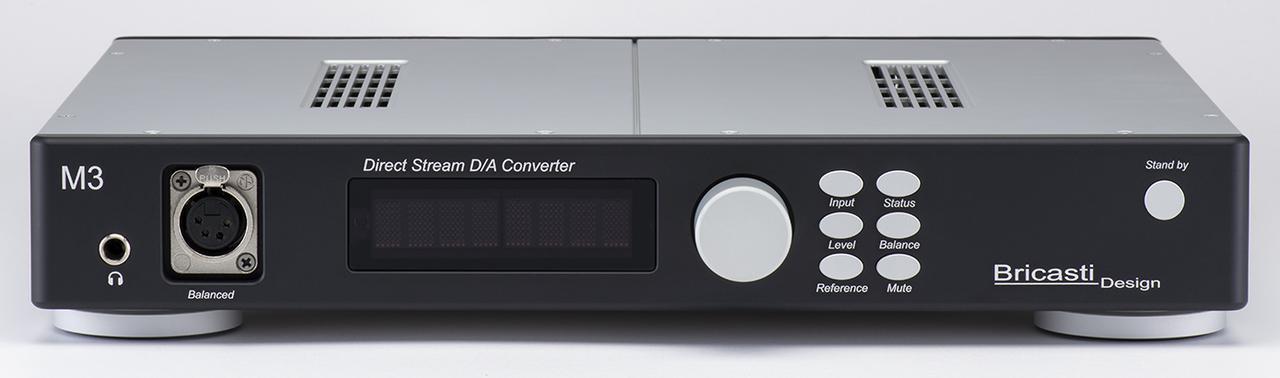 画像: ブリキャスティ・デザインから「M3」が登場。高度な技術に裏打ちされたDSD再生の音は必聴だ