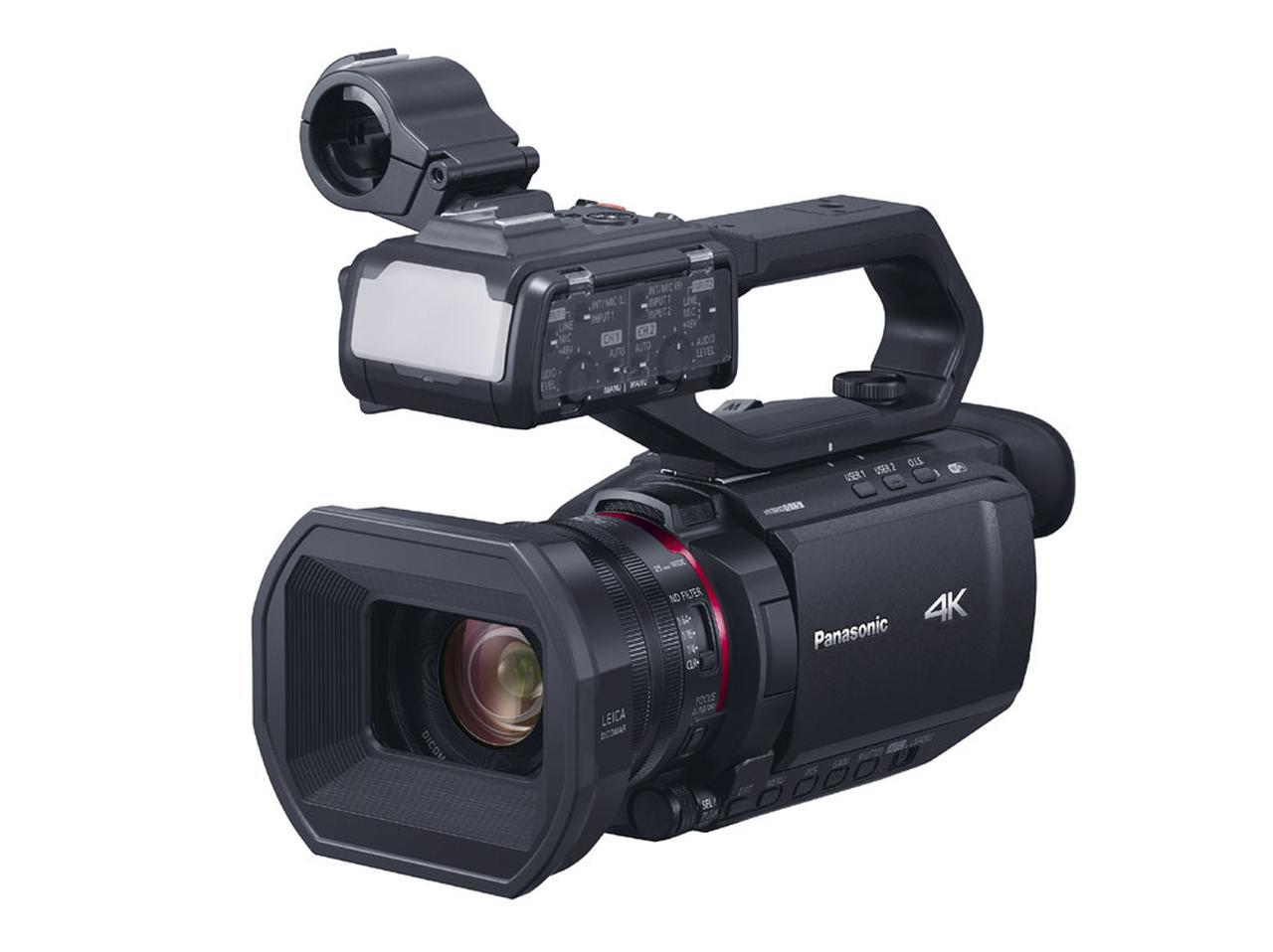 画像: パナソニック、4K/60p映像の撮影が可能なデジタル4Kビデオカメラ「HC-X2000」「HC-X1500」を3月19日に発売 - Stereo Sound ONLINE