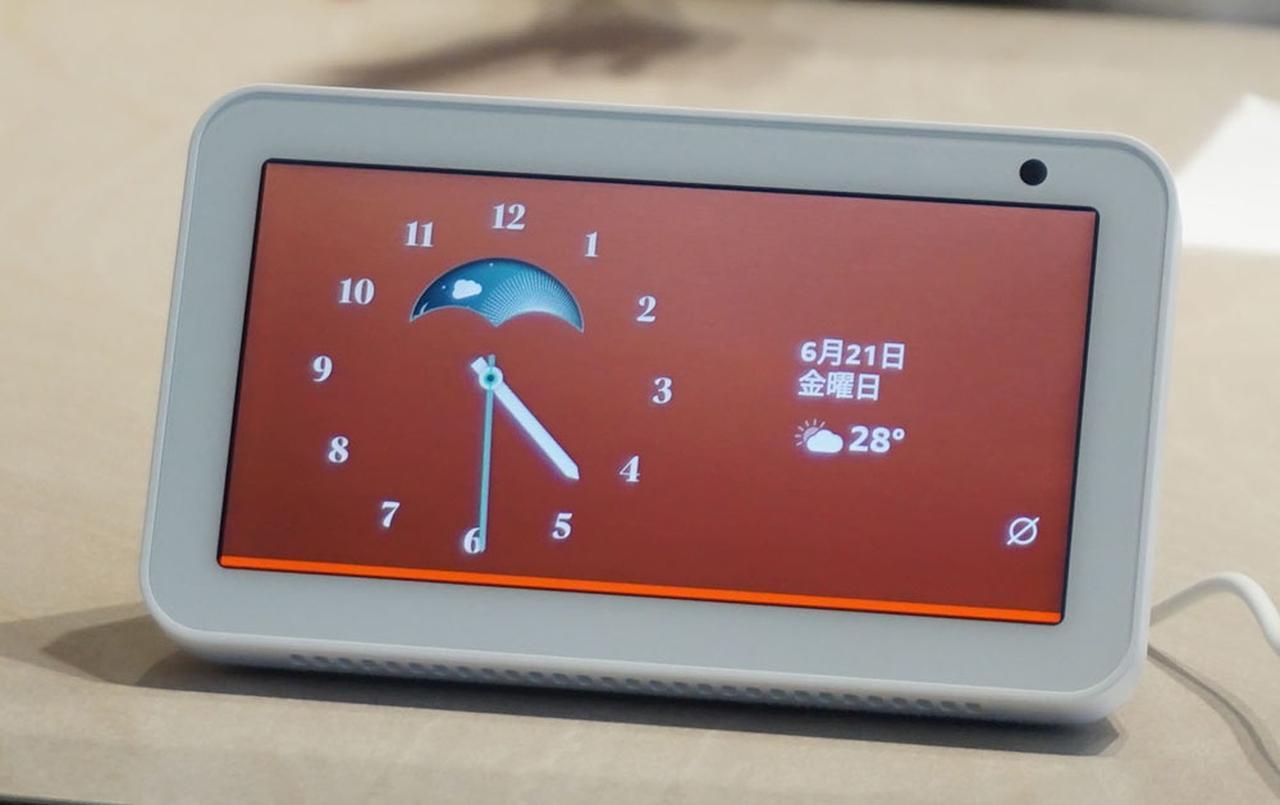 画像: 「Alexaが、暮らしをより便利に楽しくする」 5.5インチディスプレイ搭載のEcho Show5は音質アップとスマートホームのいっそうの適さを実現した - Stereo Sound ONLINE