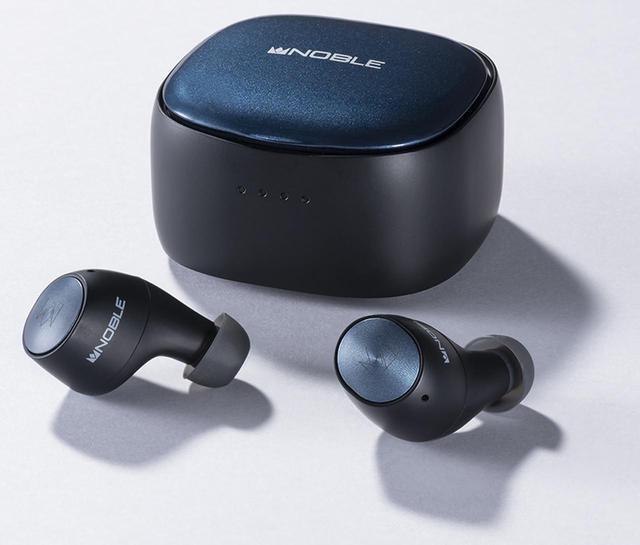 画像: Noble Audio FALCON 2 オープン価格(実勢価格1万3,900円前後) ●使用ユニット:6mm径ダイナミック型 ●再生周波数帯域:20Hz~24kHz ●対応コーデック:SBC、AAC、aptX、aptX Adaptive ●寸法/質量:全長約32mm/5.5g(イヤホン片耳)