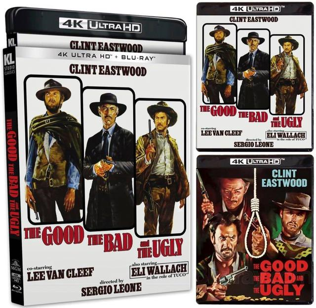 画像1: THE GOOD, THE BAD AND THE UGLY(EXTENDED CUT ) - 4K UHD BLU-RAY with 4K RESTORATION OF THE FILM WITH HDR