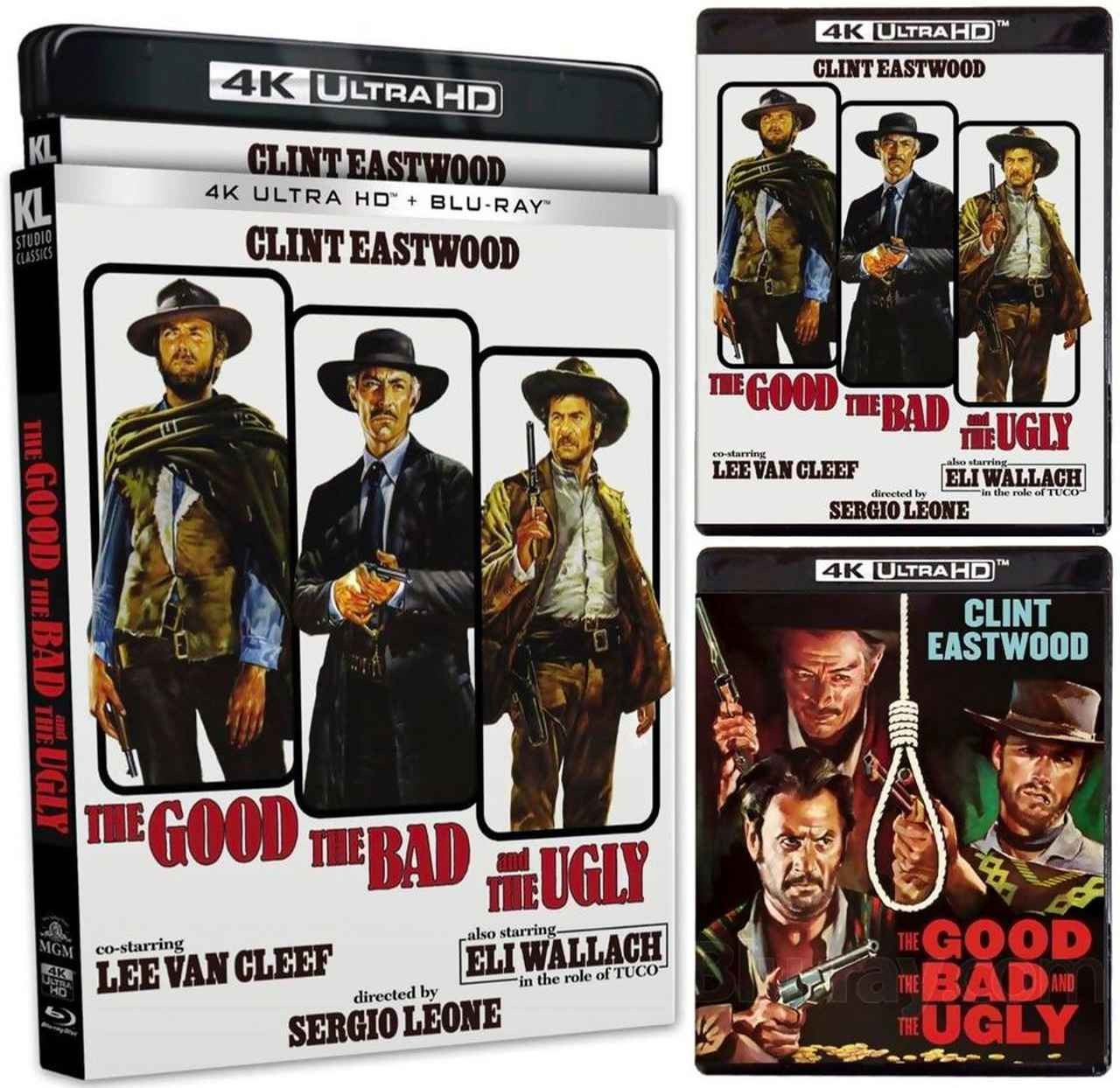 画像1: THE GOOD, THE BAD AND THE UGLY(EXTENDED CUT ) - 4K UHD BLU-RAY with 4K RESTORATION OF THE FILM WITH HDR