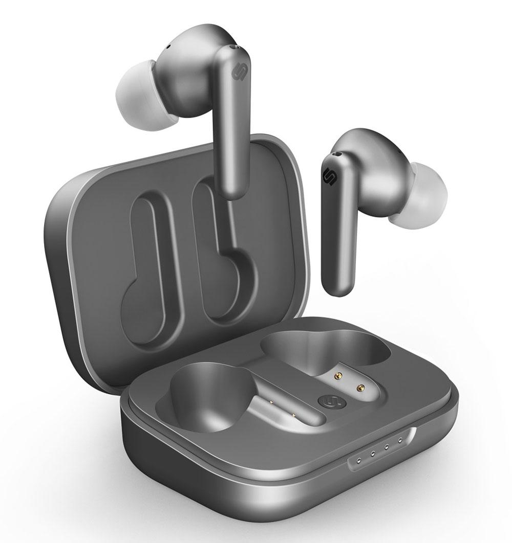 画像: urbanista社のノイズキャンセリング機能付き完全ワイヤレスイヤフォン「urbanista LONDON」に、新色チタニウムが追加。スウェーデンのブランドらしいシンプルで優しいデザインが栄える
