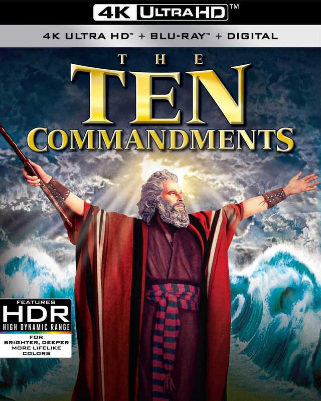 画像: THE TEN COMMANDMENTS - Anticipated March 30, 2021