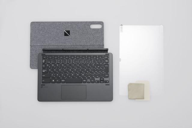 画像: タンドカバー付きキーボード&液晶保護フィルム。価格は各¥9,980前後