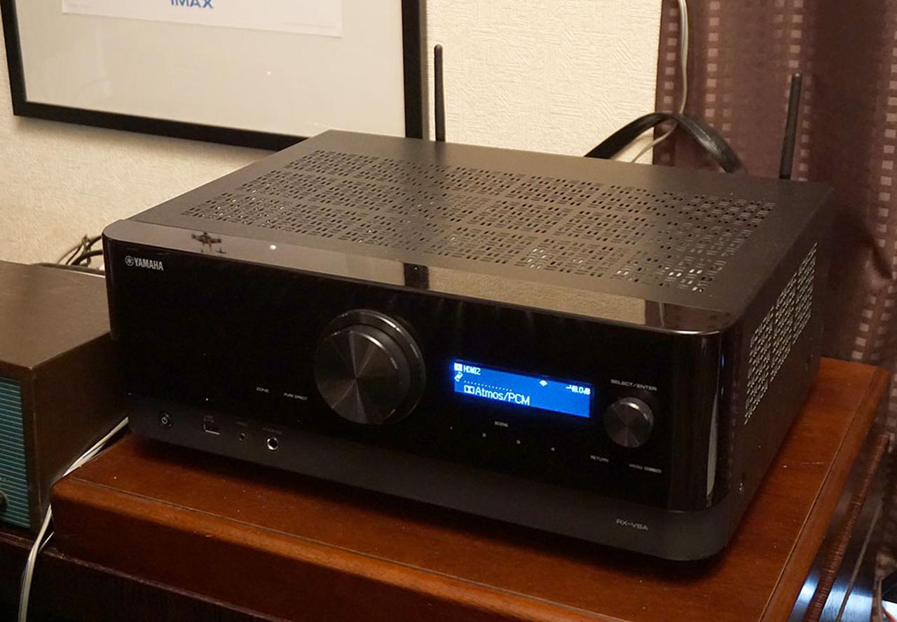 """画像: 悩めるAVファンの""""身近な救世主""""。ヤマハ「RX-V6A」を使って、既存2chシステムを活かしつつ、ドルビーアトモス再生を楽しんでみた - Stereo Sound ONLINE"""