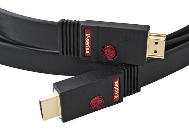 画像: エイムが、8K対応HDMIフラットケーブル「FLV」を11月10日に発売。メタル線で48Gbps伝送を実現したハイスペックモデルは、1mで¥60,000〜 - Stereo Sound ONLINE