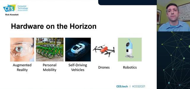画像: Consumer Adoption of New Hardware Conference Session Thursday, January 14。これからの流行り物の指南