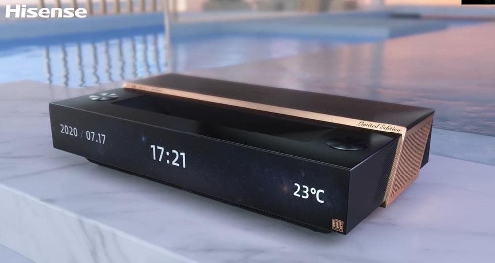 画像: ハイセンスのレーザーテレビのニューモデル