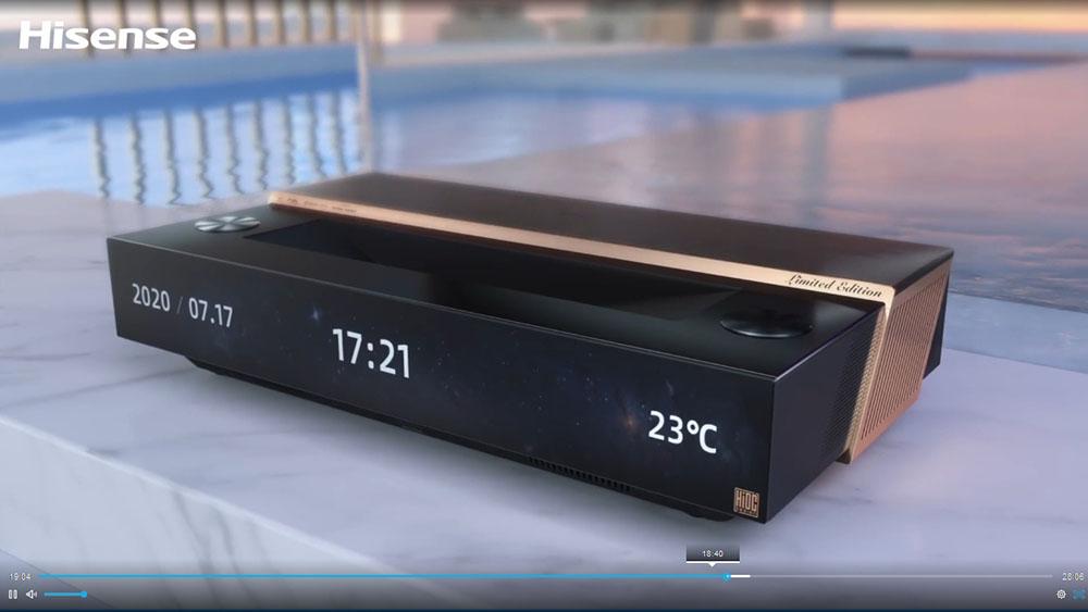 画像: 2021年モデルの100L9PRO。3色レーザー搭載