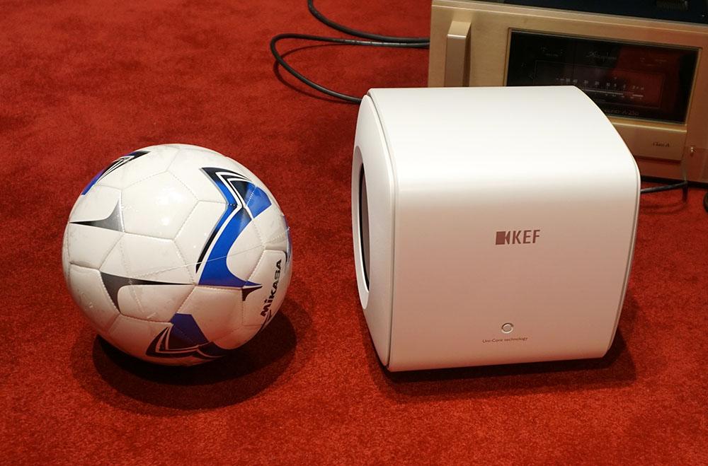 画像: 本体サイズはサッカーボール(5号)より少し大きいくらいだ