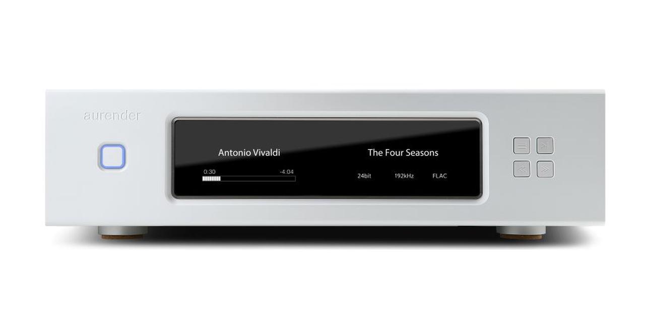 画像1: Aurender、ネットワークトランスポートのフラッグシップをさらに強化した「W20 Special Edition」を1月29日に発売。ジッター対策と電源を強化。DSD512にも対応
