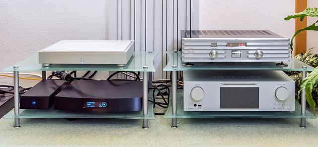 画像: 土方さんの試聴室では、ルーミンやカクテルオーディオのネットワークプレーヤーを使ってハイレゾを楽しんでいる。その音源保存用として今回「HFAS1-HN80」も新たに追加された